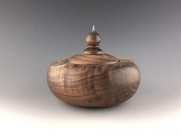 Walnut Lidded Pot